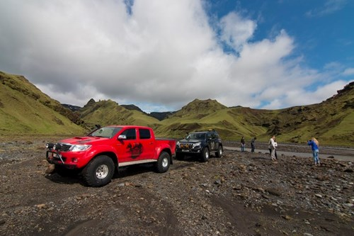 4x4 Super Jeep Tours Iceland. Arctic Trucks Experience