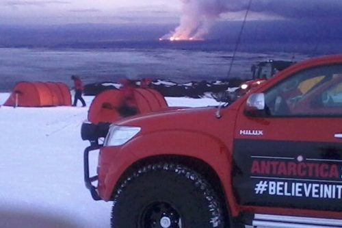 Arctic Trucks Super Jeep tours Volcano Iceland