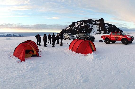 Glacier Camp Experience