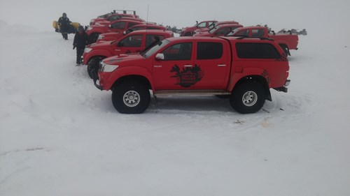 Toyota Hilux Super Jeep Tours Iceland Arctic Trucks Experience