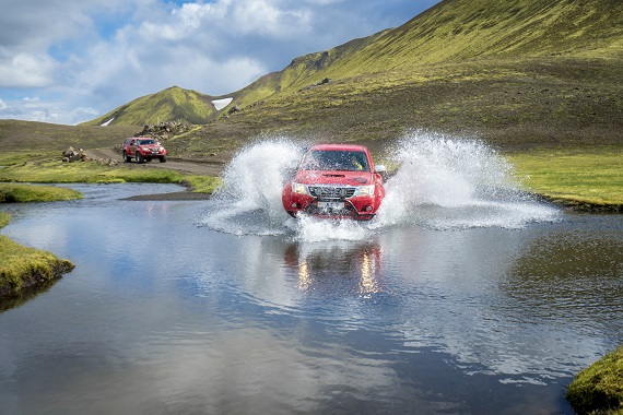 Summer 4x4 Super Jeep Tours Iceland.